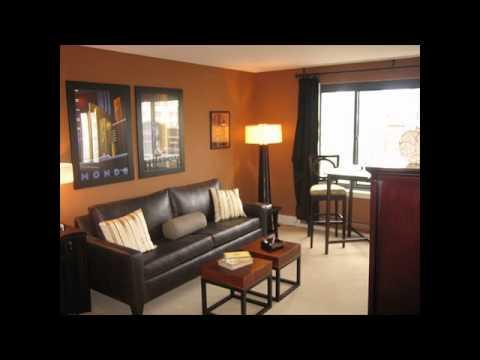 odd shaped living room furniture arrangement - YouTube