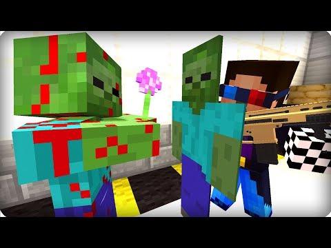 видео: Ловушка для зомби [ЧАСТЬ 23] Зомби апокалипсис в майнкрафт! - (Minecraft - Сериал)