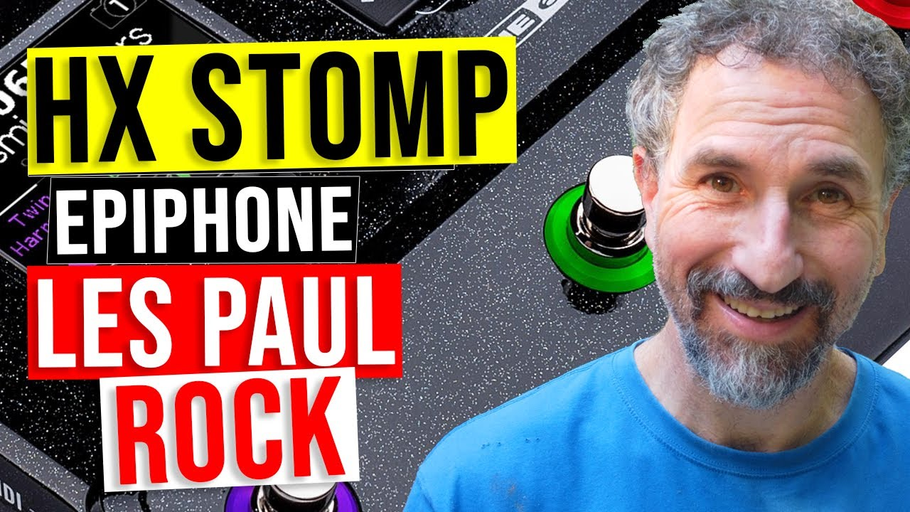 Epiphone Les Paul ROCK Preset for The Line 6 HX Stomp