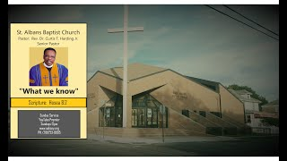 St Albans Baptist Church Online Service  7.12.20