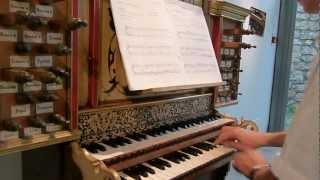 verset 2e ton anonyme (1668) Pierre ASTOR orgue Franck BISTOCCHI musée Retournac Haute-Loire