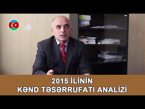 2015 Ili Kənd Təsərrufatı Analizi, Vahid Məhərrəmli #313