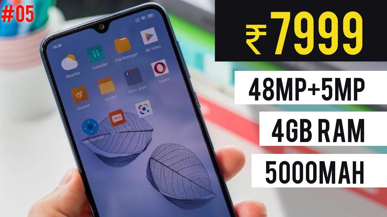 Top 5 Best Budget Smartphone Under 7000 In 2019