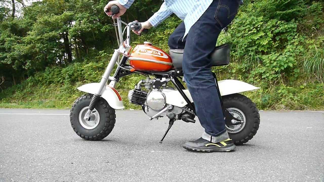 honda qa  minibike vintage motorbike engine start  youtube