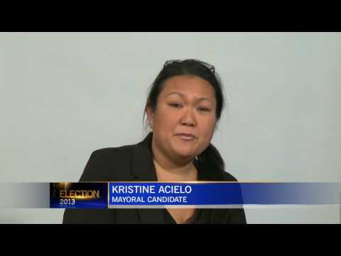 Kristine Acielo   Mayoral  Candidate Soapbox   CTV Edmonton