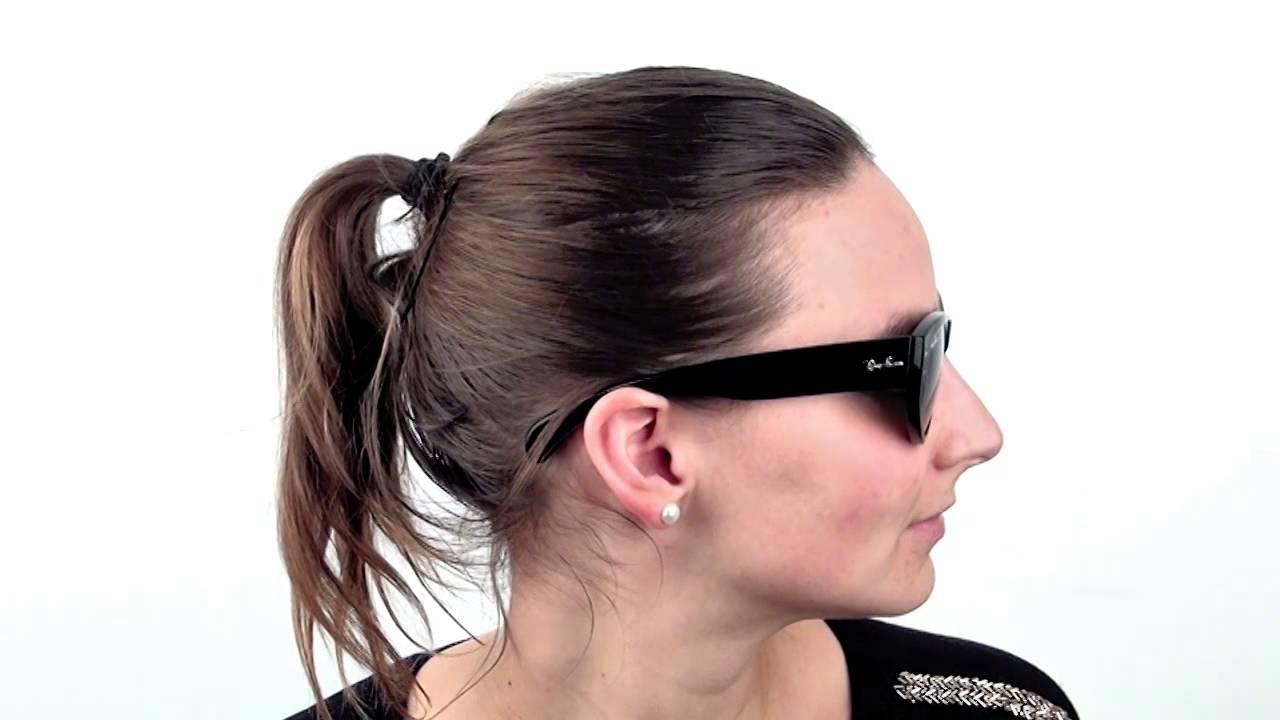 ray ban vagabond polarized sunglasses  ray ban rb4152 vagabond 601 sunglasses visiondirect reviews youtube