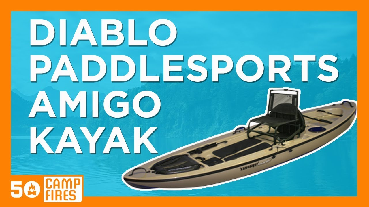 50 campfires diablo paddlesports roto molded amigo kayak. Black Bedroom Furniture Sets. Home Design Ideas