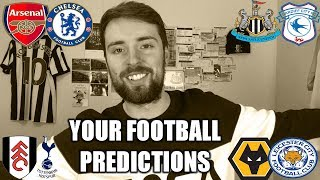 YOUR FOOTBALL PREDICTIONS #GW23
