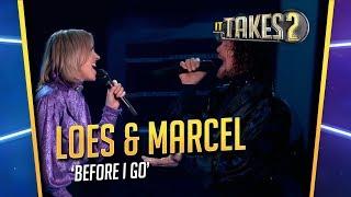It Takes 2: Loes Haverkort & Marcel Veenendaal zingen Before I Go