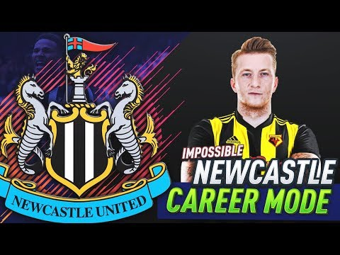 MARCO REUS PLAYS FOR WATFORD!!! FIFA 18 NEWCASTLE UNITED CAREER MODE #40
