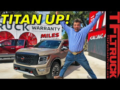 Did They Do Enough? The New 2020 Nissan Titan Gets a New Nose!
