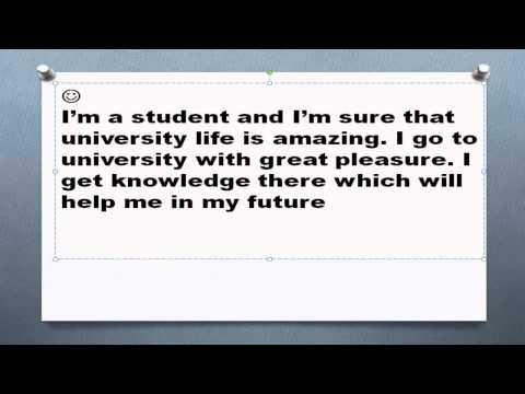 Топик My university studies учеба в университете устная тема
