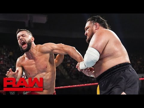 Finn Bálor vs. Samoa Joe: Raw, July 15, 2019