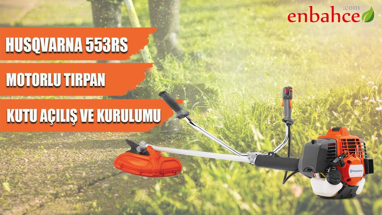 Stihl fr480 & husqvarna 553rbx