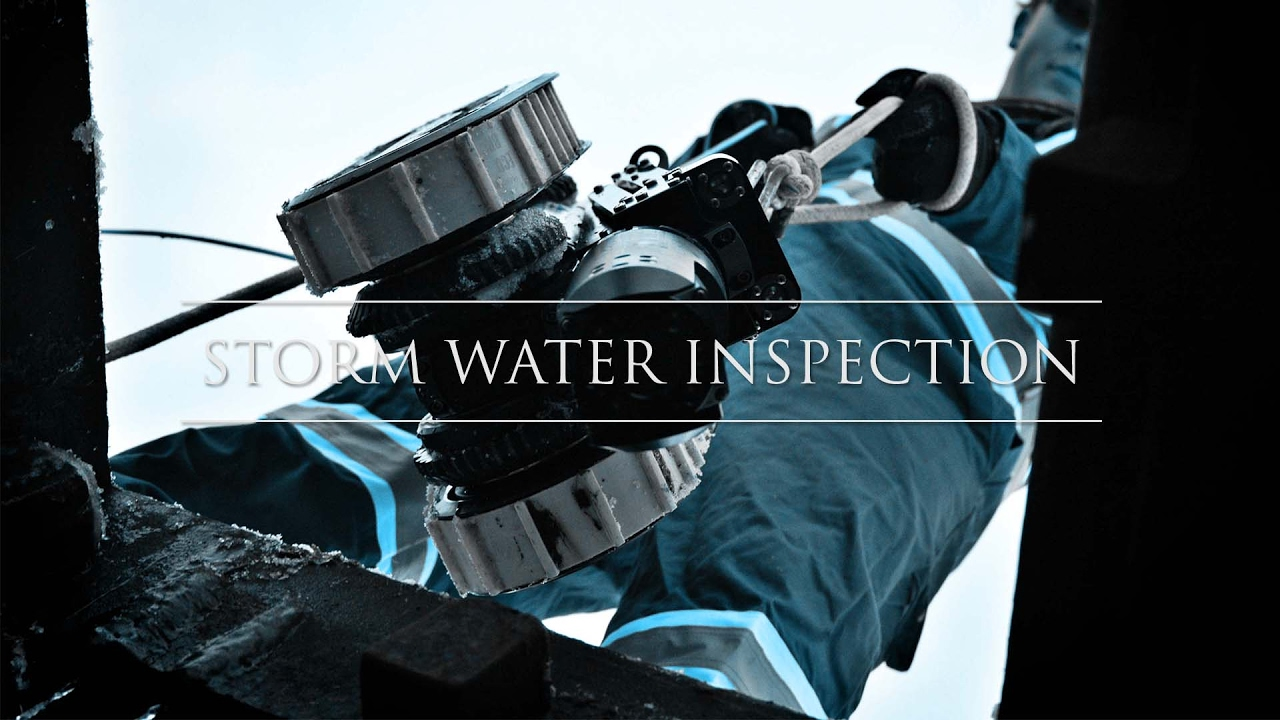 Cctv Storm Water Pipe Crawler Inspection Youtube