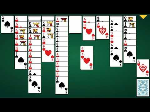 Играть в карты пасьянс паук 2 масти бесплатно и без регистрации