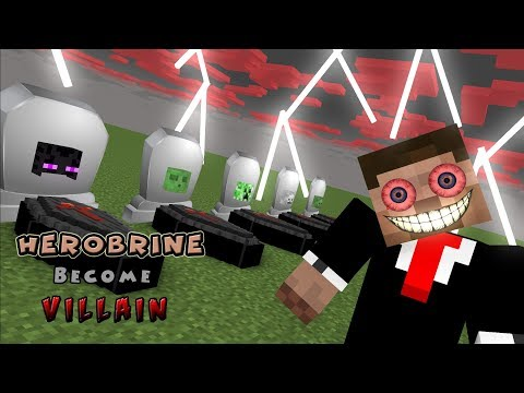 Monster School | HEROBRINE BECOME VILLAIN | Monster School