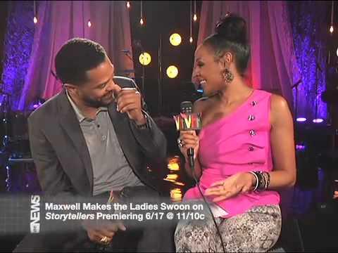 Maxwell VH1 Storytellers interview
