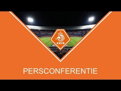 Live persconferentie benoeming bondscoach