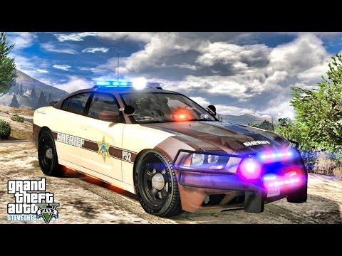 GTA 5 MODS LSPDFR 1066 - BLAINE COUNTY PATROL!!! (GTA 5 REAL LIFE PC MOD)