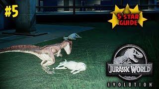 5 STAR ISLA PENA FULL STRATEGY!!   JURASSIC WORLD EVOLUTION GAMEPLAY GUIDE!   #5