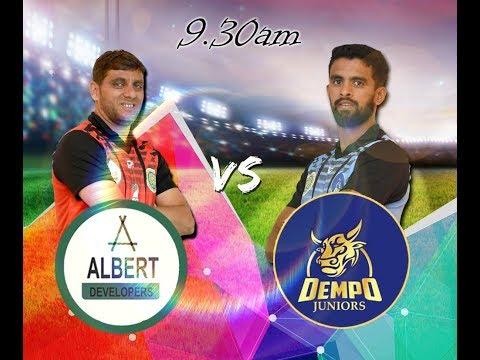 GENO PRUDENT T20 CUP    ALBERT DEVELOPERS VS DEMPO JUNIORS