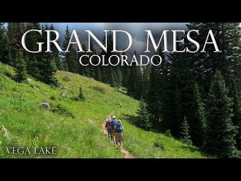 Grand Mesa, Colorado. Vega Lake