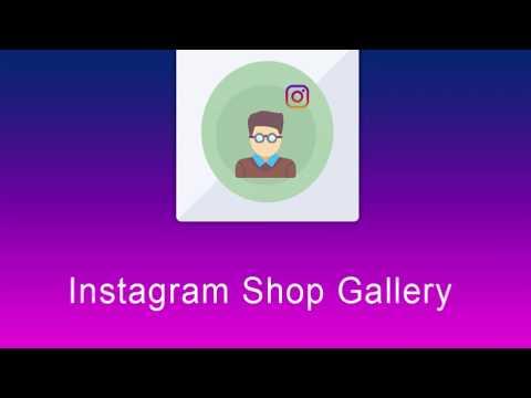 Instagram Shop Gallery - Magento Extensions