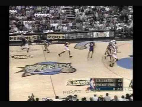2001 NBA Finals: Lakers at Sixers, Gm 5 part 7/12