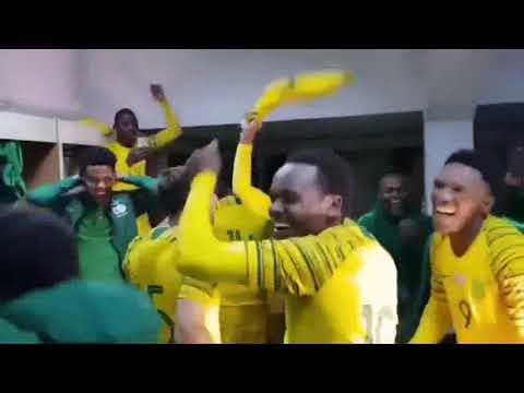 Bafana Bafana celebrate AFCON success in style