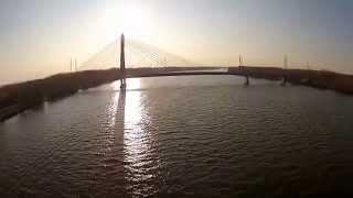 Die Rosenbrücke in Tulln an der Donau