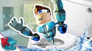 ROBLOX - Escape the Bathroom: DON'T GET FLUSHED AWAY!