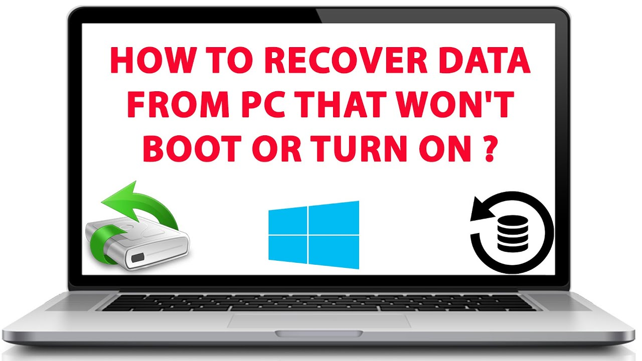 How to Recover Data from Laptop Hard Drive that Won't Boot ...