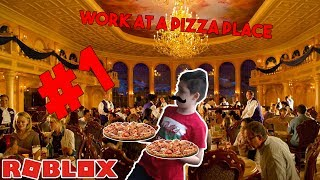 WORK AT A PIZZA PLACE! | ROBLOX | DELTA259