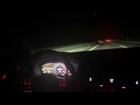 Audi TT RS - 297km/h On The German Autobahn
