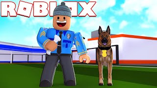 The NEW POLICE DOG l MadCity Roblox