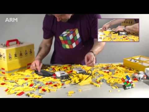 How to build a LEGO Speedcuber in under 5 minutes using ARM Powered devices