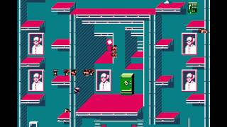 Impossible Mission II (NES) Gameplay