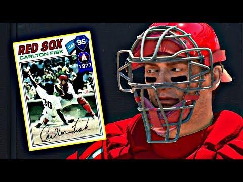 DIAMOND CARLTON FISK DEBUT!! MLB THE SHOW 17 DIAMOND DYNASTY