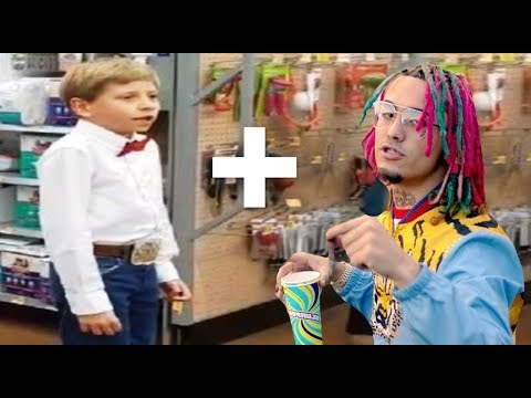 If the Walmart Yodeling Kid started RAPPING