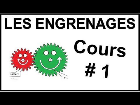 LES ENGRENAGES - Cours 1 - DESSIN INDUSTRIEL -