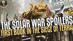 The Solar War - Book Spoilers! The beginning of the end...