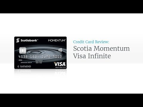 Scotia Momentum Infinite Cash Back Credit Card Review