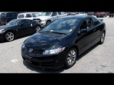 2011 Honda Civic EX Coupe Walkaround, Start Up, Tour And Overview