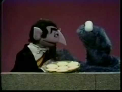 The Count Meets Cookie Monster Classic Sesame Street
