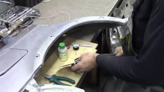 Кузовной ремонт. Опять не много про олово. Body repair.(Body repair. Кузовной ремонт автомобилей в гараже. Подробности на моем сайте. http://remontkuzova.blogspot.ru/ Комментарии..., 2016-10-14T16:02:34.000Z)