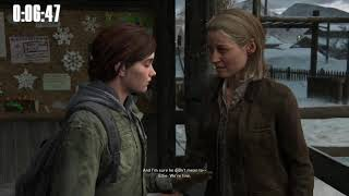 The Last of Us Part 2 Survivor Ellie% Speedrun 2:39 IGT