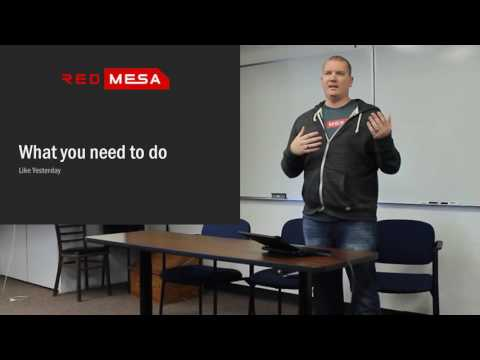 Ethical Hacker Career Day: Drew Porter @iamredshift