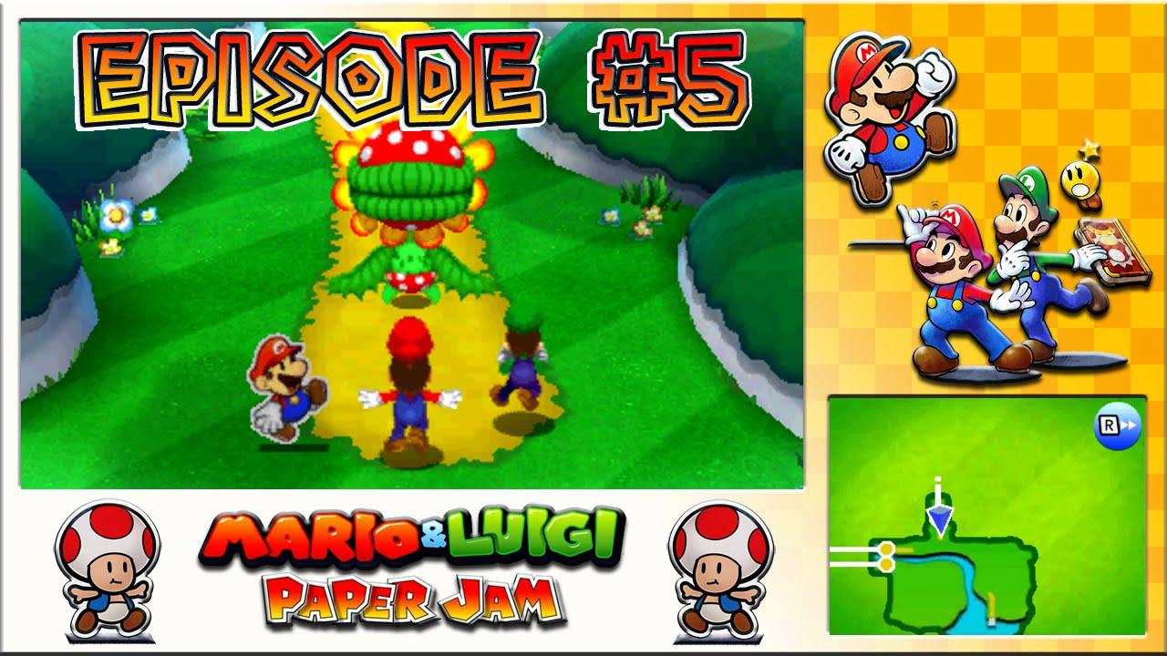 Mario Luigi Paper Jam Peach Duo Kidnapping Petey Pirahna