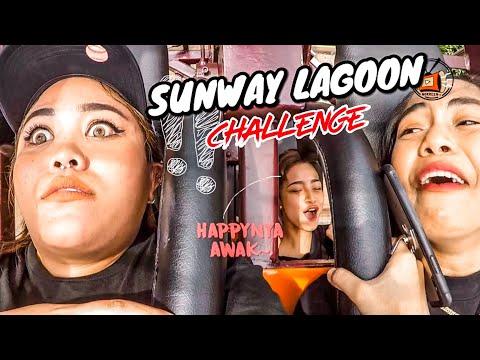Norreen almost gila buat Sunway Lagoon Malaysia Challenge (Episod 1)